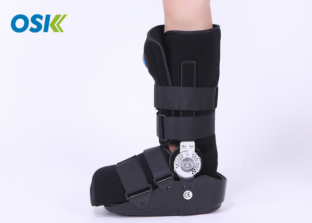 Physiotherapy Aircast Walking Boot , Orthopedic Walking Boot For Sprained Ankle